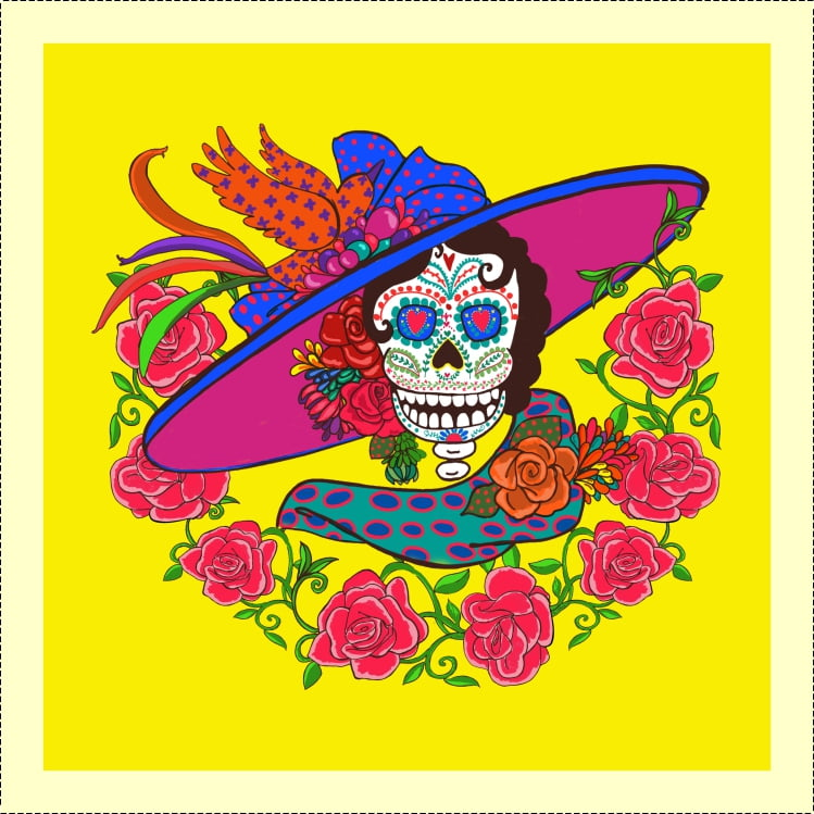 AFONSO FRANCO -TRICOLINE ESTAMPA DIGITAL - CATRINA SMILE