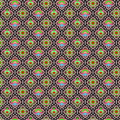 AFONSO FRANCO - TRICOLINE ESTAMPA DIGITAL - FAT QUARTER 50X75 CM  - ESTAMPA LOTUS