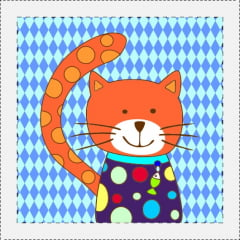 AFONSO FRANCO - TRICOLINE ESTAMPA DIGITAL - PATCH GATO JOCA